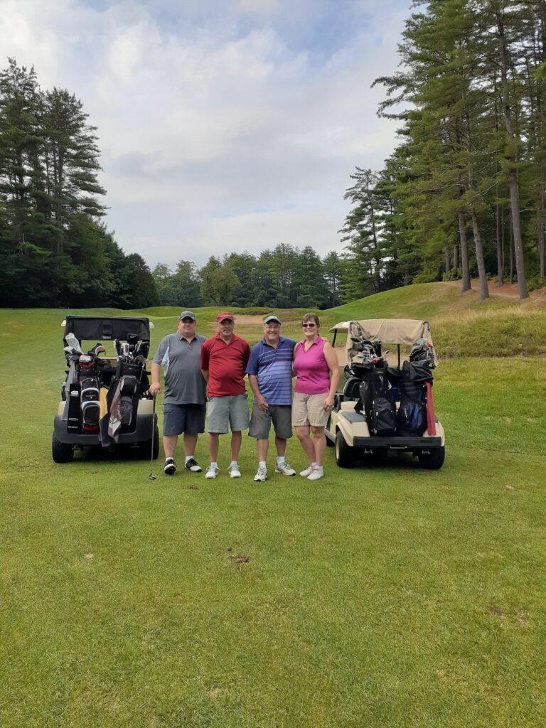 Monadnock Scramble Golf League Y1W7