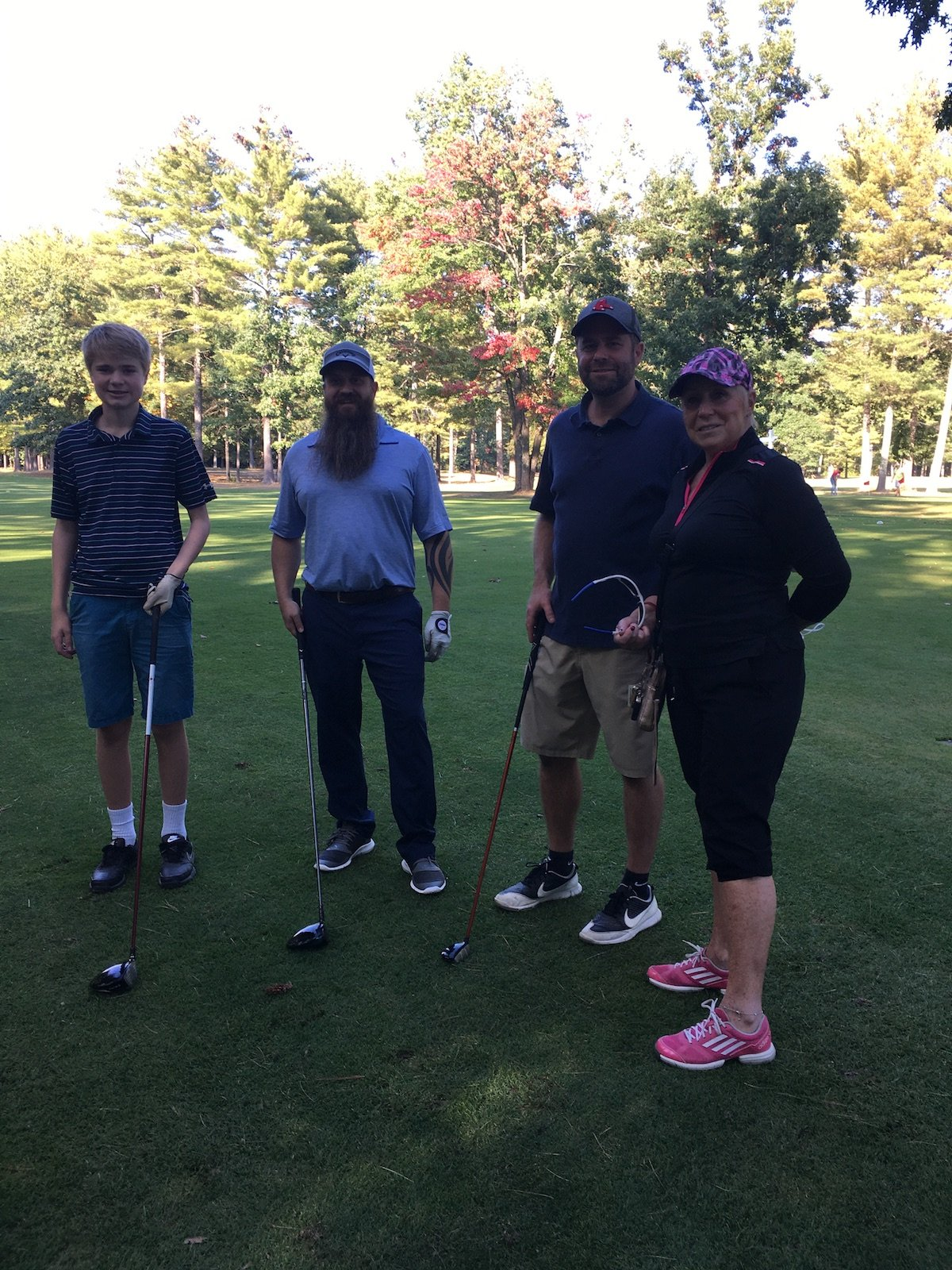 Saturday Scramble Golf League Y4W15
